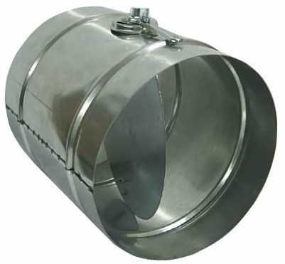 Дроссель-клапан круглого сечения
