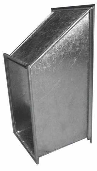 Прямоугольные фасонные части. Фото 7