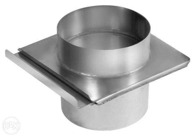 Шибер круглого сечения для воздуховода