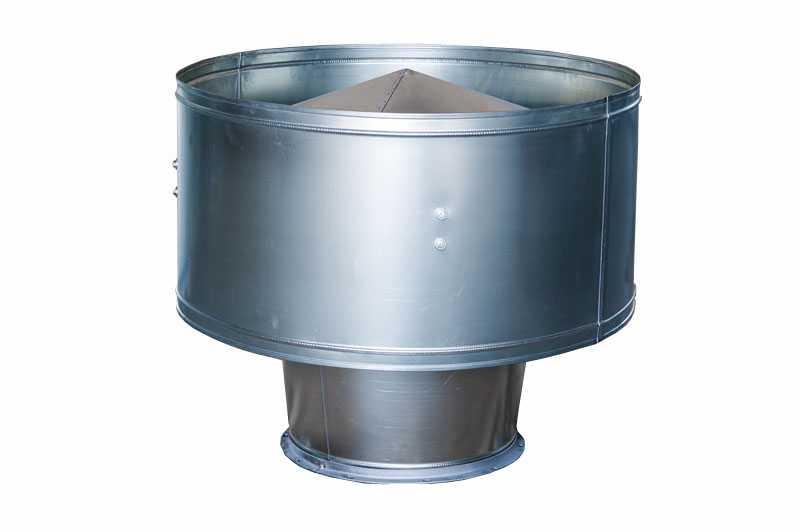 Вентиляционный дефлектор круглого сечения