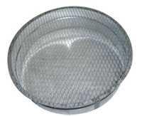 Заглушка круглого сечения для воздуховода
