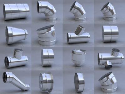Круглые фасонные части. Фото 15