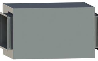 Шумоглушитель плоский для воздуховода. Фото 4