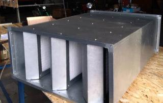 Шумоглушитель пластинчатый для воздуховода. Фото 10
