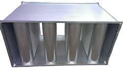 Шумоглушитель пластинчатый для воздуховода. Фото 2