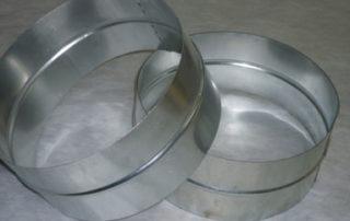 Ниппель круглого сечения для воздуховода. Фото 3