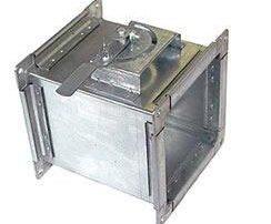 Прямоугольный дроссель-клапан для воздуховода. Фото 3