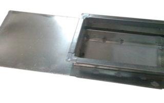 Шибер прямоугольный для воздуховода. Фото 6