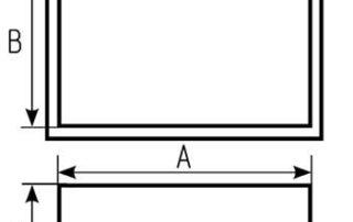 Заглушка прямоугольная для воздуховода. Фото 3