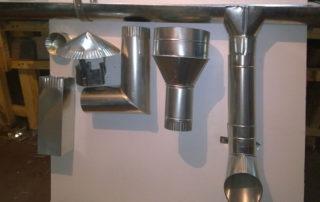 Изготовление системы водостоков. Фото 2