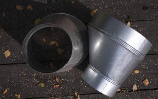 Переход круглого сечения для воздуховода. Фото 2
