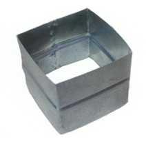 Ниппель прямоугольного сечения для воздуховода. Фото 2