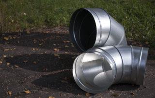 Отвод круглого сечения для воздуховода. Фото 7