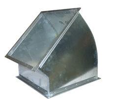 Отвод прямоугольный для воздуховода. Фото 4