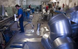 Отвод круглого сечения для воздуховода. Фото 10