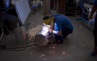 Сварные воздуховоды из нержавеющей стали. Фото 3