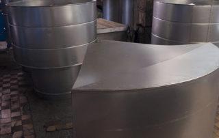 Сварные воздуховоды из нержавеющей стали. Фото 4