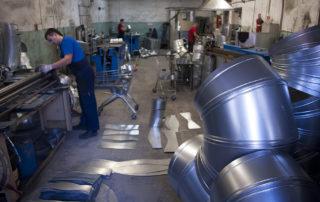Сварные воздуховоды из нержавеющей стали. Фото 2