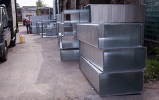 Сварные воздуховоды из нержавеющей стали. Фото 1