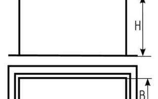 Врезка прямоугольная для воздуховода. Фото 6