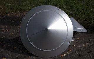 Зонт круглого сечения для воздуховода. Фото 3