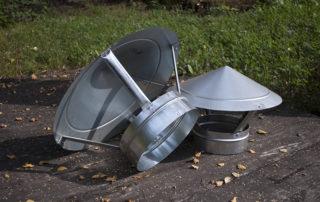 Зонт круглого сечения для воздуховода. Фото 4