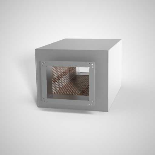 Шумоглушитель плоский для воздуховода. Фото 1