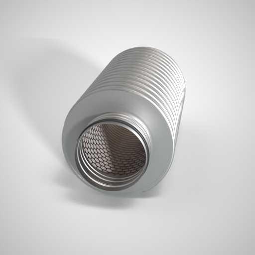 Шумоглушитель круглый для воздуховода. Фото 1