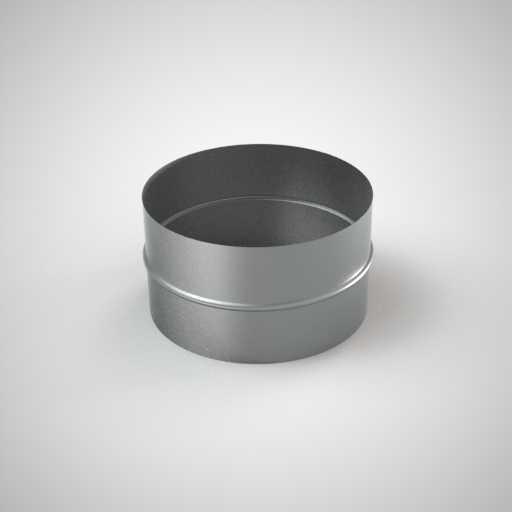 Ниппель круглого сечения для воздуховода. Фото 1