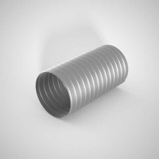Скорлупа оцинкованная из толстого оцинкованного металла. Фото 1