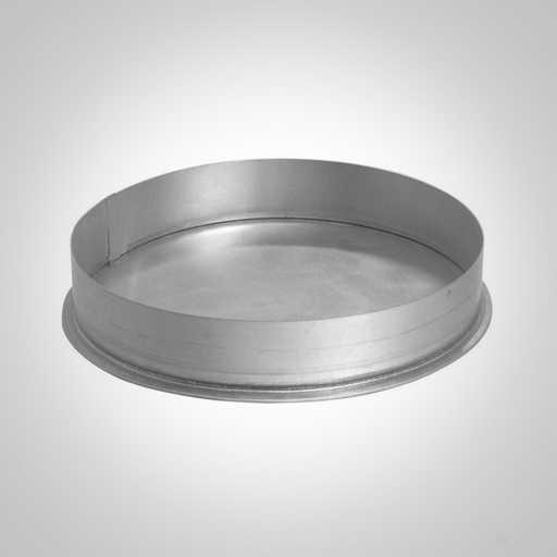 Заглушка круглого сечения для воздуховода. Фото 1